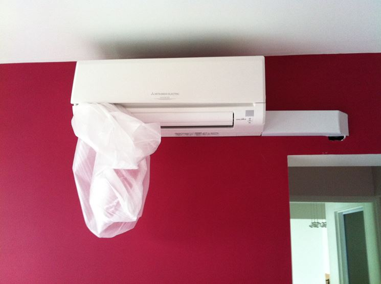 ventilconvettore moderno a parete