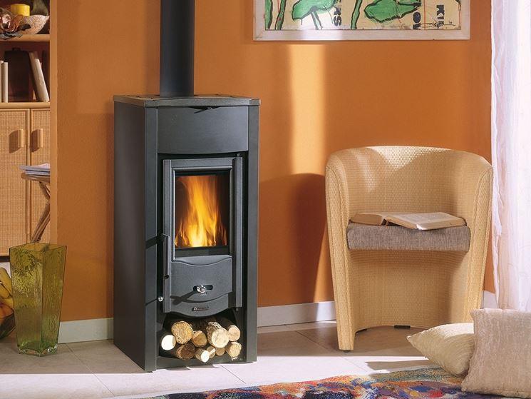 la stufa stufe a legna tipologie di stufa per. Black Bedroom Furniture Sets. Home Design Ideas