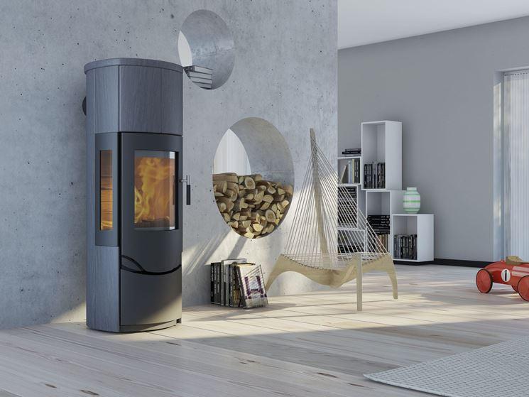 termostufa combinata moderna