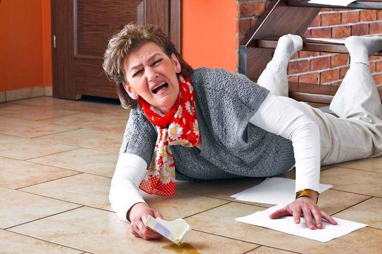 Caduta dalle scale di casa