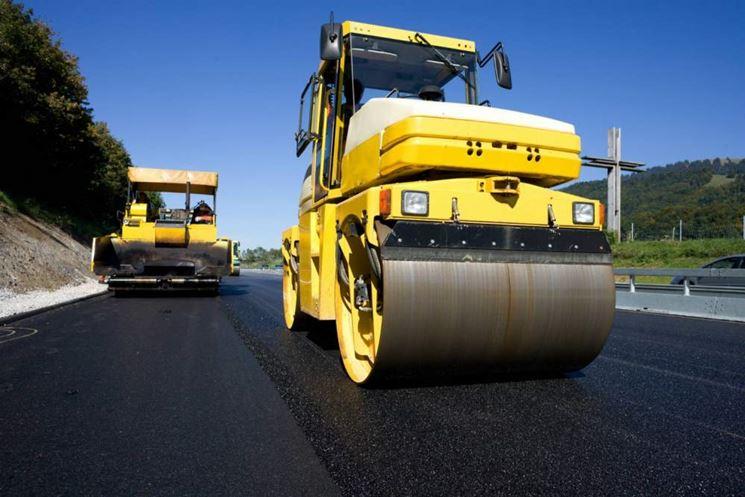 Lavorazione del bitume per la pavimentazione stradale