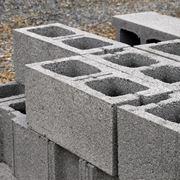 Alcuni blocchi calcestruzzo