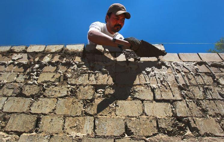 Costruzione in blocchi di legno cemento