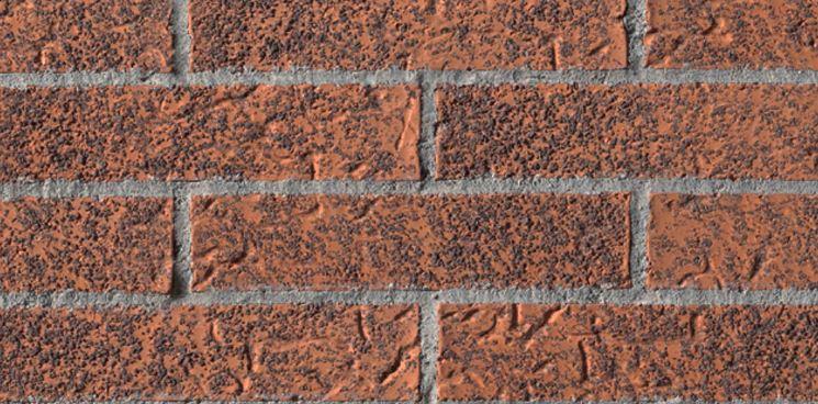 Muro di blocchi forati