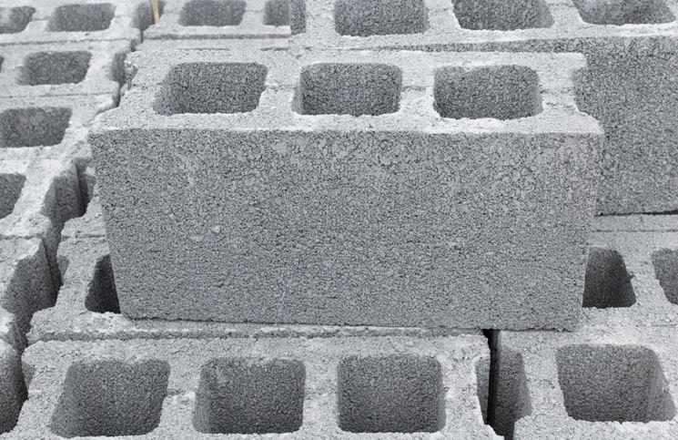 Foratura blocco in calcestruzzo