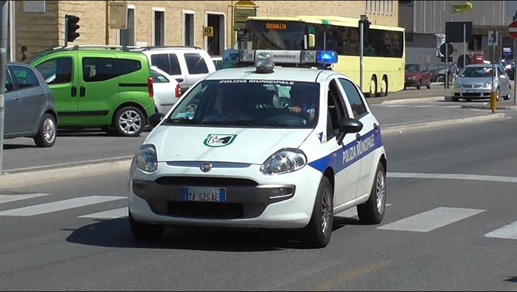 La Polizia Locale effettua gli accertamenti