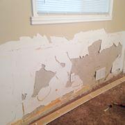 murature danneggiate per l'umidità