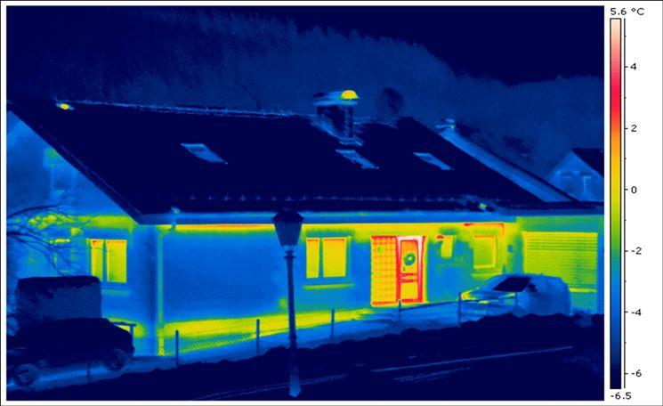 Raffigurazione zone termiche immobile