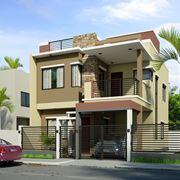 Casa isolata con giardino