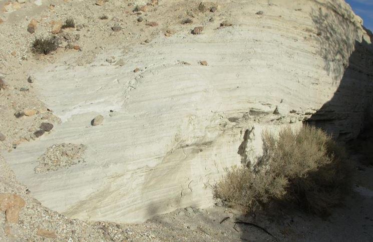 Deposito di pietra pozzolana