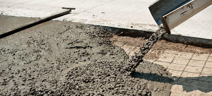 Colata cemento