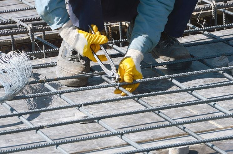 ferri per costruzioni in cemento armato