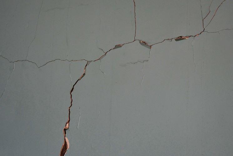Crepe - Cemento e mattoni - Come riconoscere le crepe in un muro