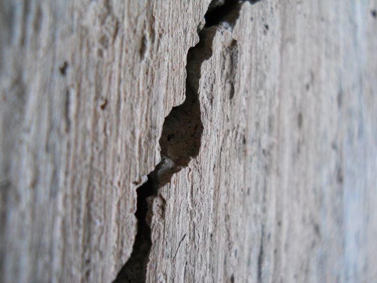 Crepe sulle pareti interne