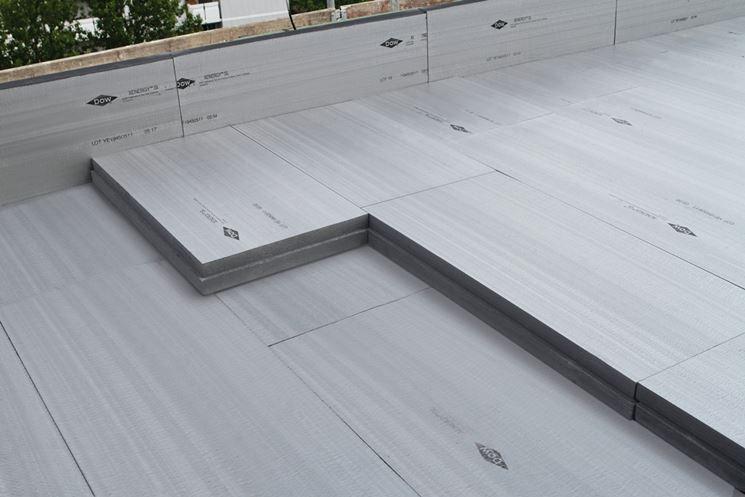 Isolamento termico del terrazzo – Tetto della casa