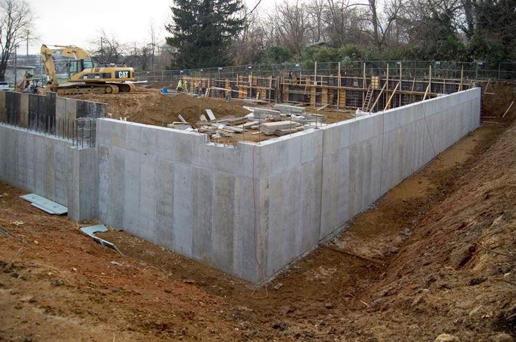 Come costruire muri in cemento armato