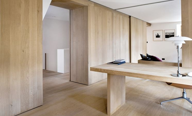 pareti in legno