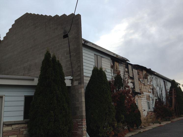 Un esempio di muro tagliafuoco