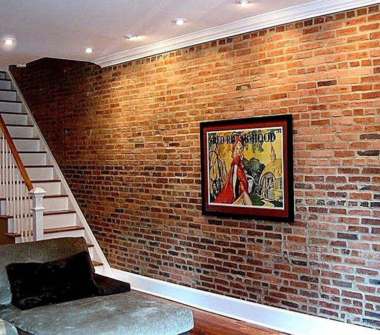 Esempio di pareti in mattoni