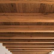 Solaio con travi in legno
