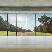 esempio di vetrata blindata