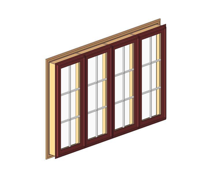 Finestre in legno dwg finestre lucernari modelli finestra for Porte 3d dwg