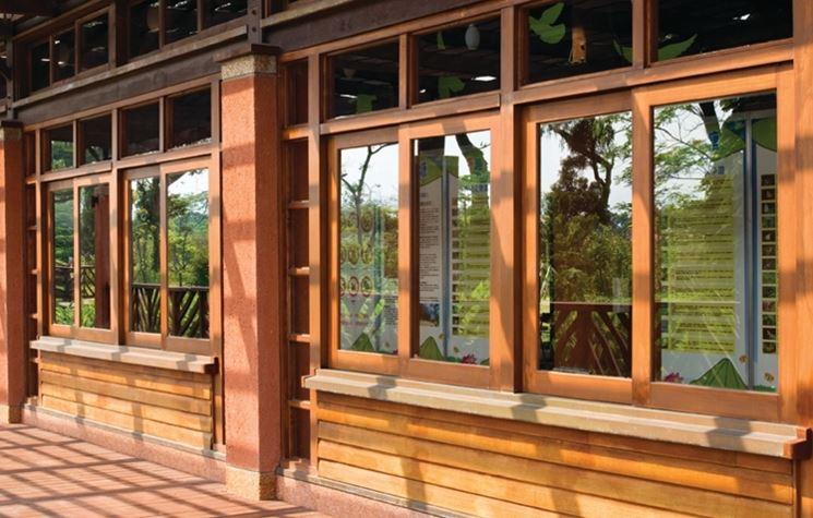 Finestre in legno finestre lucernari caratteristiche - Verniciare le finestre ...