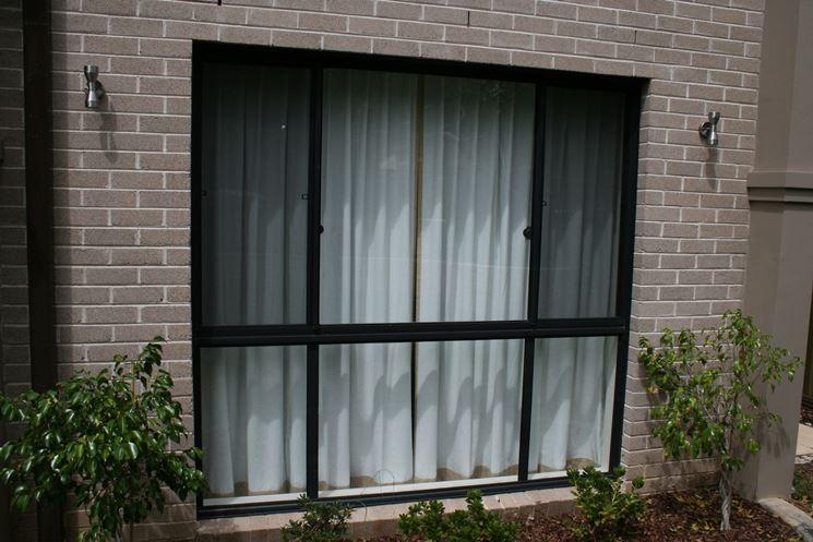 Le finestre scorrevoli finestre lucernari infisso Finestra grande scorrevole