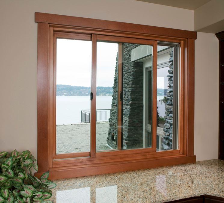 Le finestre scorrevoli finestre lucernari infisso - Finestre scorrevoli ...