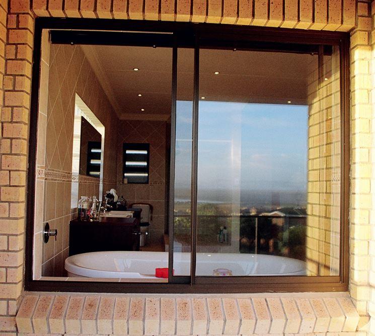 Le finestre scorrevoli finestre lucernari infisso for Finestra esterna scorrevole