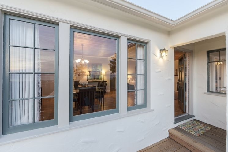 Materiali standard finestre