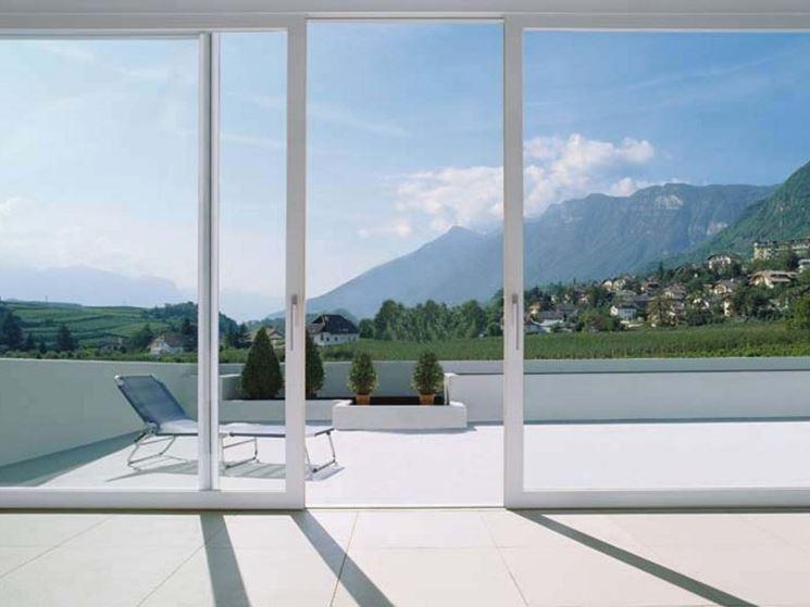 Porta finestra scorrevole finestre lucernari la - Costo di una porta finestra ...