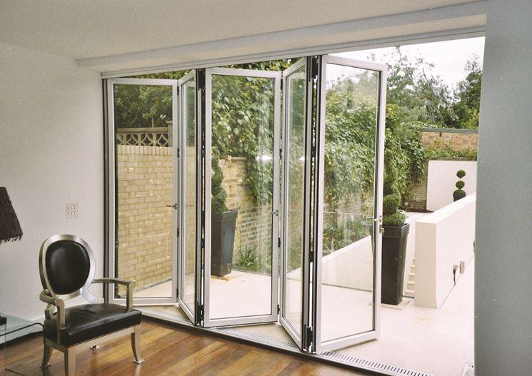 Porte finestre alluminio