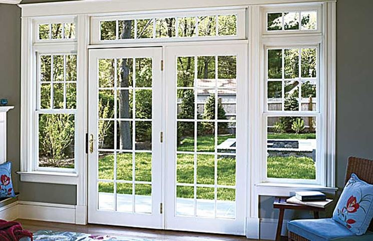 Portefinestre finestre lucernari tipologie di - Doppi vetri per finestre ...