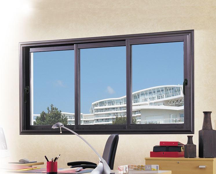 Infissi in alluminio infissi casa finestre in alluminio - Isolare le finestre ...