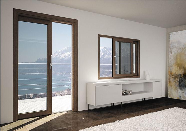 Infissi legno allumino infissi casa finestre legno e alluminio - Condensa su finestre in alluminio ...