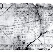 Un esempio di catasto romano