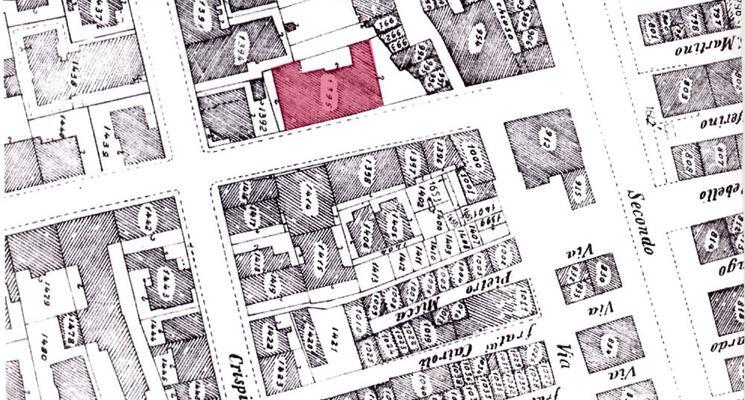 Mappa catastale di un terreno