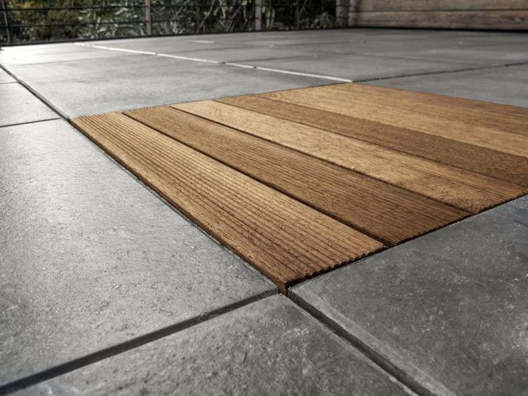 Mattonelle da esterno in cemento stunning pavimenti da esterno
