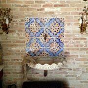 Utilizzo delle mattonelle antiche
