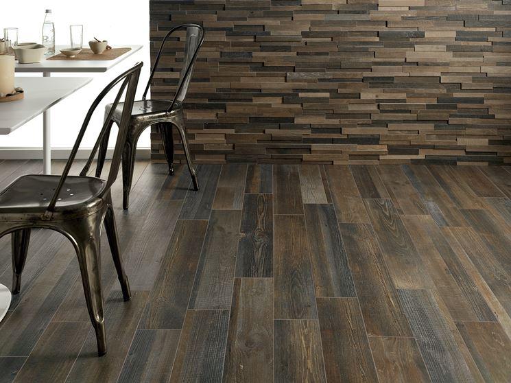 Mattonelle finto legno - Mosaici e mattonelle - Mattonelle in finto legno da costruzione