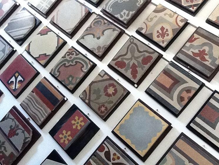Esempi di mattonelle in graniglia