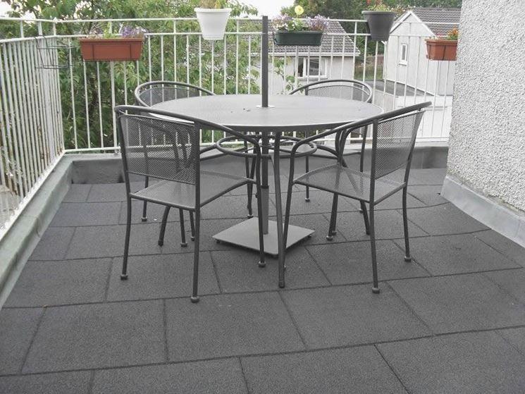 Mattonelle per balconi mosaici e mattonelle modelli di - Piastrelle per balcone ...