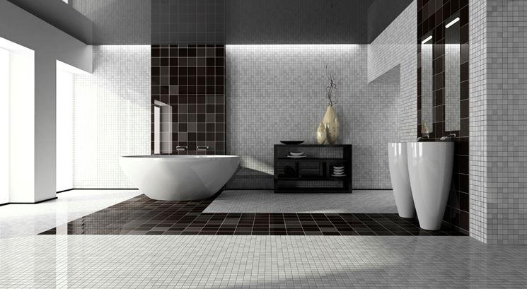 Rivestimenti in mattonelle in bagno