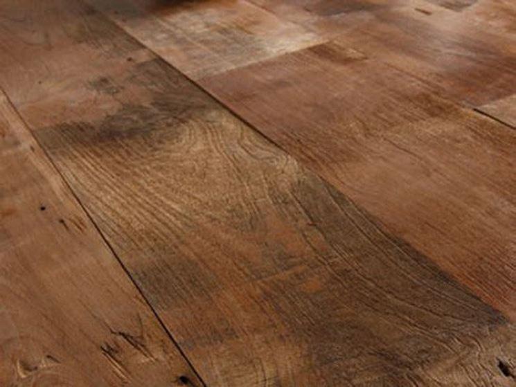 Parquet in legno teak