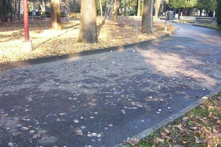 Vialetto in asfalto