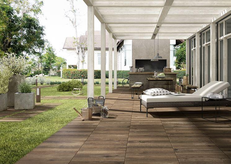 Pavimenti in gres per esterni pavimenti per esterni - Impermeabilizzante per piastrelle ...