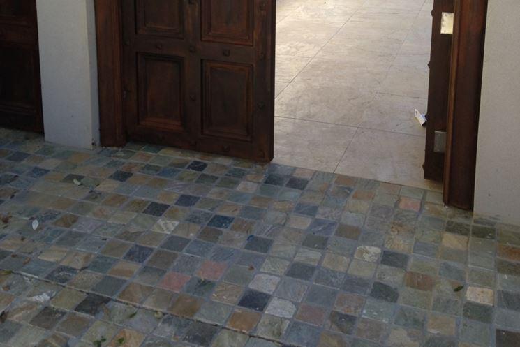 Pavimenti in porfido pavimenti per esterni pavimento - Impermeabilizzante per piastrelle ...