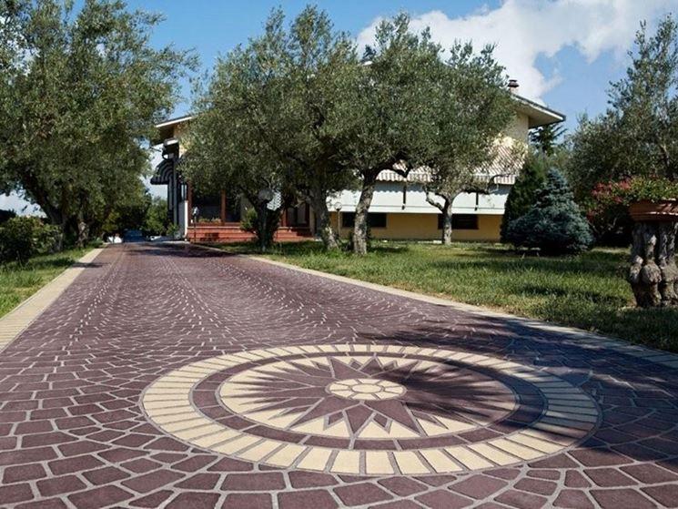 Pavimenti per esterni carrabili pavimenti per esterni - Pavimentazione cortile esterno ...