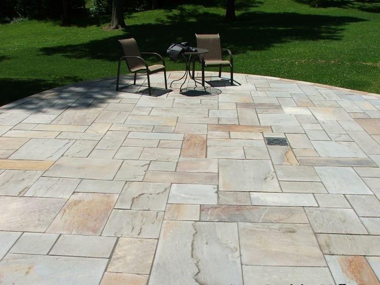 Pavimenti per esterni pavimenti per esterni come scegliere il pavimento per esterno - Piastrelle di pietra per esterni ...